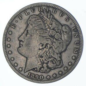1890-CC Morgan Silver Dollar - Charles Coin Collection *121