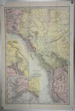 1903 Rand McNally Co. Map of Alaska and the Yukon Gold Fields Canada California