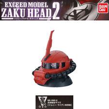 Gundam Exceed Model ZAKU HEAD 2 Gashapon MS-06R-2 Zaku II Johnny Ridden