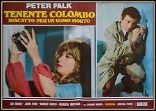 fotobusta  TENENTE COLOMBO RISCATTO PER UN UOMO MORTO    PETER FALK