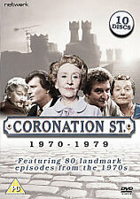 CORONATION STREET BEST OF 1970-1979 BOX SET NEW REGION 2 DVD