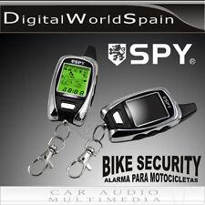 ALARMA DE MOTO SPY FM5000 2 MANDOS SENSOR GOLPES + MICROONDAS. ENVIO 24H GRATIS