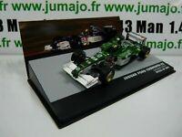 SEN21T eaglemoss 1/43 F1 BRESIL Formule 1 JAGUAR FORD cosworth R2 L.Burti 2001