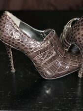 Guess By Marciano Brown Buckle Booties