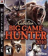 Cabela's Big Game Hunter 2010 PlayStation 3 PS3