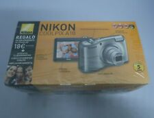 CAMARA DIGITAL - NIKON COOLPIX A10 - 16MP ZOOM OPTICO 5X NEGRA NUEVA