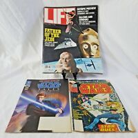 Star Wars Edition Life Magazine June 1983 George Lucas Ephemera Comic Book Bonus
