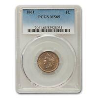 1861 Indian Head Cent MS-65 PCGS - SKU#154772