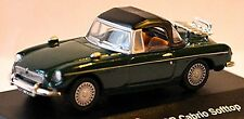 MG B Roadster MORBIDI TOP 1962-67 - 1:72 Verde