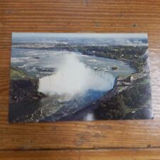 Vintage Postcard The Canadian Horseshoe Falls As Seen From The Skylon Tower