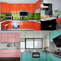 Self-Adhesive Shiny Furniture Refurbished Stickers PVC Removable Wallpaper Decor