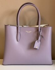 Kate Spade Eva Breezy Floral Medium Satchel in Lush Lilac Colour NWT