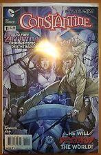 Constantine #11 VF/NM 2014 DC New 52 Fawkes Aco Hellblazer JLA Papa Midnite