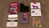 Mighty Final Fight Nintendo NES Capcom Cartridge lot Game Box Inserts TESTED!!!!