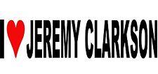 I Love Jeremy Clarkson Adesivo Decalcomania in Vinile per Auto/Finestra/Muro