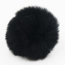 DIY 9CM Faux Rabbit Fur Pom pom Ball for Beanie Hat Accessories