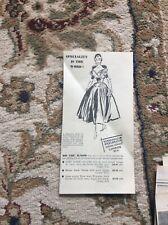 B9g Ephemera 1953 Advert Marshall Snelgrove London Gown In Black Faille