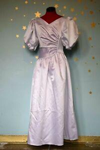 90s vintage French  white bridesmaid dress