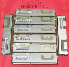 NEW 32GB (8 x 4Gb) PC3-8500R 2Rx4 DDR3 1066 REG ECC Server RAM FOR HP IBM DELL