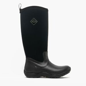 Muck Boots ARCTIC ADVENTURE Ladies Waterproof Warm Winter Wellington Boots Black