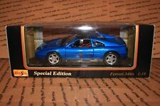 Maisto - Special Edition - Ferrari 348ts - 1:18 - Blue - FAST/FREE SHIPPING!!!