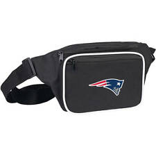New England Patriots NFL Blitz Black 12.5'' x 6'' Travel Pack Bag/Wallet