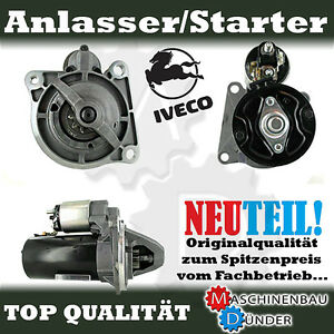 Iveco Daily I II Starter Motor New Nouveau