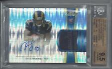 CHRIS GIVENS 2012 TOPPS FINEST PULSAR REFRACTOR PATCH AUTO RC /25 BGS 9.5 10 AU