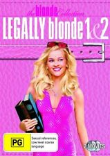 LEGALLY BLONDE 1/LEGALLY BLONDE 2 (2 DVD SET) BRAND NEW!!! SEALED!!!