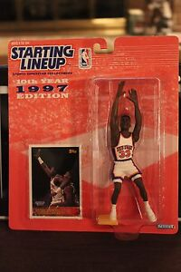 1997 Patrick Ewing - Starting Lineup Sports Figurine - New York Knicks