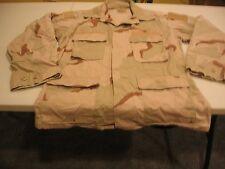 US Military Issue Desert Camo Top, DCU Shirt - Size Medium Regular