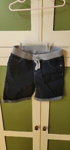 Girls Justice Denim Pull-On Shorts Size 14