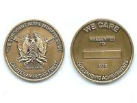 """ARMY THE SERGEANT AUDIE MURPHY CLUB 2""""  CHALLENGE COIN SALUTES AMERICAS FINEST -"""