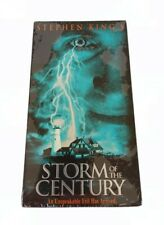 Stephen King's Storm Of The Century VHS 1998 Fantasy Horror New Sealed