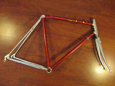 VINTAGE VITUS 979 54 CM RED ANODIZED ROAD BIKE FRAME SET