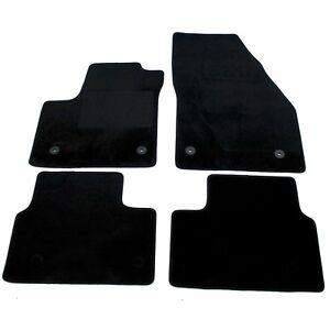 Velours Fußmatten Automatten für Opel Meriva B  Stoffmatten Satz 4 Teilig