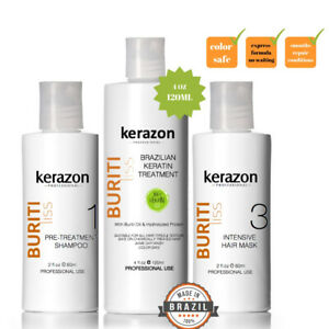 Brazilian Hair Keratin Treatment Complex Blowout 240ml/8oz KIT Keratina