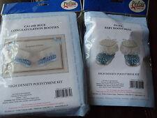 Pinflair Baby Stivali CARD KIT e Baby Stivali KIT (BLU) (2) KIT