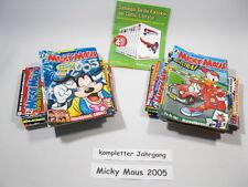 Micky Maus  Jahrgang 2005 / Nr. 1-52 komplett !!! Ehapa Verlag  64629