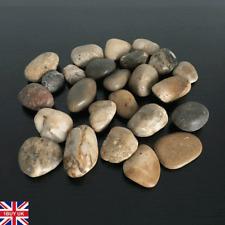 1kg Large Assorted Browns Natural Stones Pebbles Aquarium Decoration Garden Vase