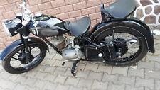 Schicke schwarze DKW 250