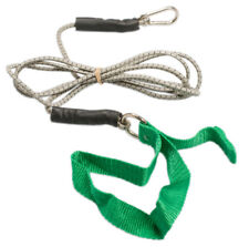 CanDo exercise bungee cord w/attachments, 7ft , Green-medium -1425816 10-5803