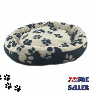 PET BED - Dog Cat Polar Fleece Mattress Pad Mat Plush Warm Comfy Soft - 2 Sizes