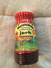 Walkerswood traditional jamaican healthy jerk seasoning HOT & SPICY (10 oz)