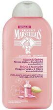 LE PETIT MARSEILLAIS SHAMPOO 3 FLOWERS VINEGAR & ALMOND MILK COARSE HAIR 300ml
