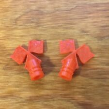 BICYCLE FLAG CAPS FOR SCHWINN ORANGE KRATE  STING-RAY BICYCLES HUFFY OTHERS NOS