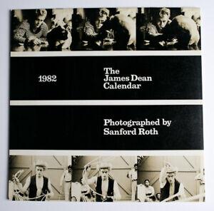 Official James Dean 1982 calendar Sanford Roth photography