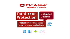McAfee Total Protection 2020*Unlimited Devices*1 Year*Worldwide Key* Download