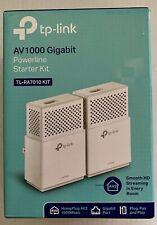 TP-LINK TL-PA7010 Kit | AV1000 Gigabit Powerline Starter Kit | 1 ETHERNET CABLE