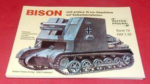 WA 76 BISON und andere 15 cm-Geschütze auf Selbstfahrlafetten